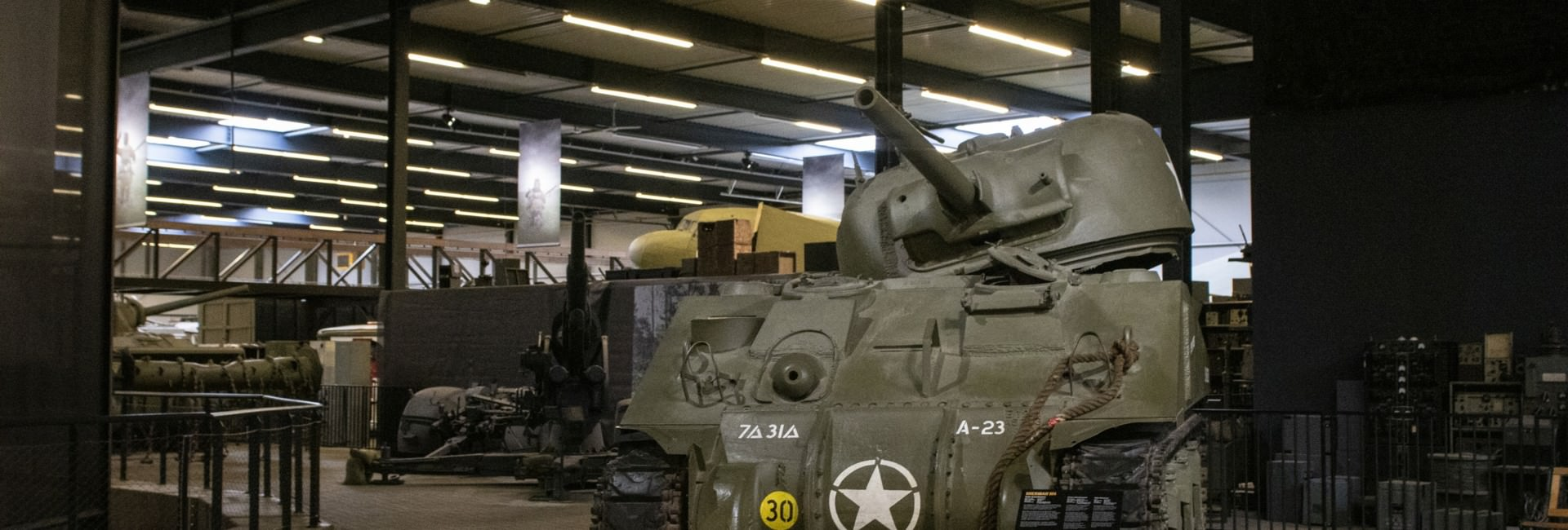oorlogsmuseum - Military vehicle collection