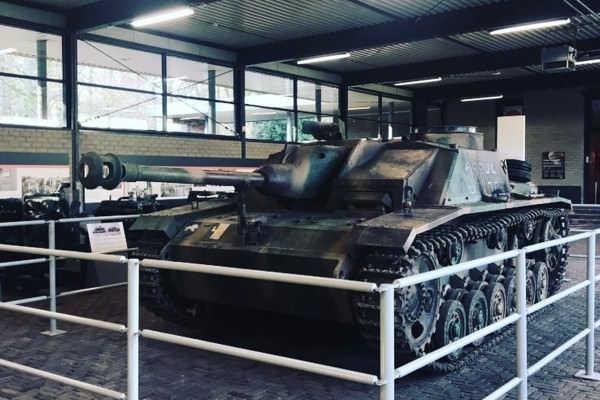 Temporary Diplayed StuG III