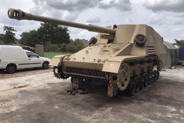 The very rare Nashorn Tank is in attendance at Militracks 2020